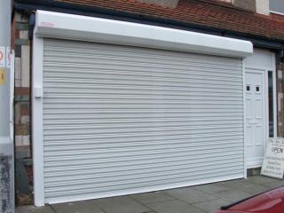 commercial garage doorsRolling Commercial Garage Doors