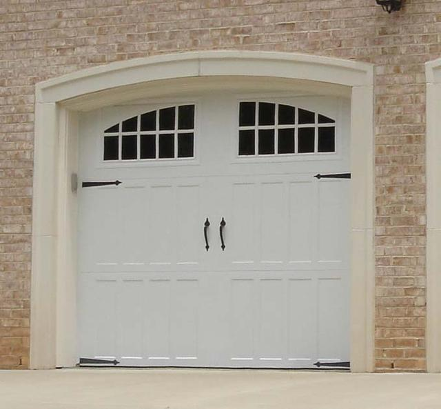 carriage house garage doorsCarriage house garage door installation in VA by Academy Door