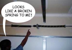 broken torsion spring replacement by academy door in virginia - Torsion Spring Garage Door