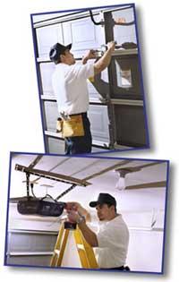 Repair Garage Door Service Residential Commercial Virginia